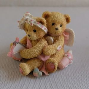 "Cherished Teddies ""Aiming For Your Heart"" Figurine"